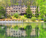 Montreat Posters - Reflections In the Mountains Poster by Lydia Holly