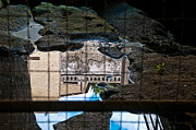 Ancient Ruins Prints - Reflections Print by Marion Galt