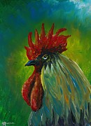 Melissa Spurlock - Regal Rooster