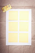 Sticky Note Prints - Reminder Notes Print by Tim Hester