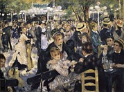 At The Ball Posters - Renoir, Pierre-auguste 1841-1919. Ball Poster by Everett