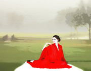 Beauty Digital Art - Repose in the fog by Richard Hemingway
