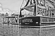 Shrimp Boat Prints - Restless Print by Scott Pellegrin