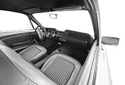 Valuable Originals - Retro Classic Car Interior by Ioan Panaite