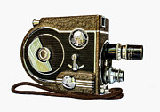 Revere 8 Movie Camera Print by Jon Woodhams
