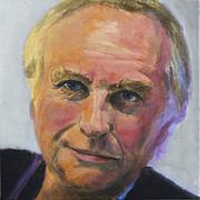 Richard Dawkins Print by Simon Kregar