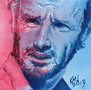 Walking Dead Paintings - Rick by Ken Meyer jr