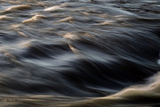 Time Exposure Posters - River Flow Poster by Bob Orsillo
