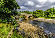 Packhorse Prints - River Swale Print by Trevor Kersley