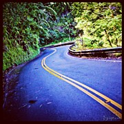 Abstract Art - Road To Hana by Adam Romanowicz