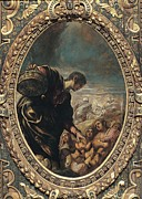 Bible Character Prints - Robusti Jacopo Known As Tintoretto Print by Everett