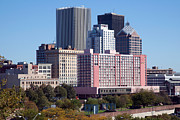 Xerox Framed Prints - Rochester New York Skyline Framed Print by Bill Cobb