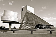 Stratocaster Metal Prints - Rock Hall of Fame Metal Print by Robert Harmon