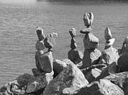 Sausalito Prints - Rock Pile Print by Blind Eye Photo