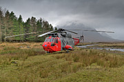 Search And Rescue Photos - Royal Navy SAR Sea King XZ920 Glencoe by Gary Eason