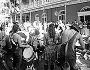 Buskers Photos - Royal Street Buskers in New Orleans by Louis Maistros