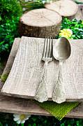 Mythja  Photography - Rustic table setting