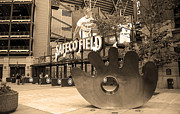 Ballpark Prints - Safeco Field - Seattle Mariners Print by Frank Romeo