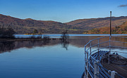 Jetty View Park Prints - Sailing on Ullswater Print by Trevor Kersley