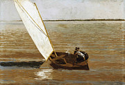 Thomas Eakins - Sailing by Thomas Eakins