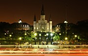 St Photos - Saint Louis Cathedral in New Orleans by Jetson Nguyen