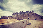 Binoculars Photos - Saint-Malo Brittany France by Colin and Linda McKie