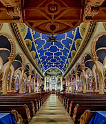 Clergy Photo Prints - Saint Michael Church Print by Susan Candelario