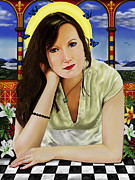 Andrew Harrison Art - Saint Phillipa by Andrew Harrison