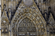 Medieval Temple Art - Saint Vitus Cathedral. by Fernando Barozza