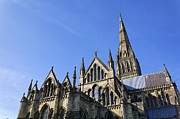 Salisbury Photos - Salisbury Cathedral Wiltshire England by Robert Preston