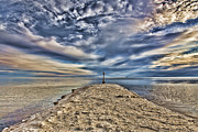 Salt Pier Salton Sea Print by Hugh Smith