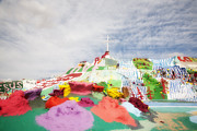 Salvation Mountain Posters - Salvation Mountain Poster by Hugh Smith