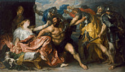 Famous Artists - Samson and Delilah by Anthony van Dyck