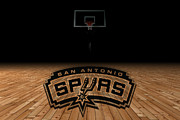 San Antonio Spurs Print by Joe Hamilton