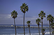 Clemente Framed Prints - San Clemente Pier Framed Print by Joenne Hartley