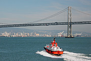 Bay Bridge Photos - San Francisco Bay Series IV by Suzanne Gaff
