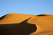 Sand Dunes Of The Sahara Desert Print by Robert Preston
