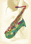 Kim Wang - Saxophone with nude - ...