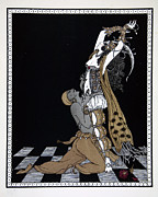 Enjoying Painting Posters - Scheherazade Poster by Georges Barbier
