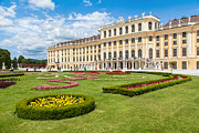 Town Photos - Schonbrunn Palace in Vienna by JR Photography