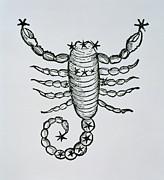 Scorpio An Illustration Print by Italian School