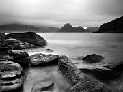 Scotland Framed Prints - Scotland Elgol Framed Print by Nina Papiorek
