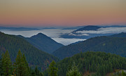 North Idaho Posters - Sea of Fog Poster by Idaho Scenic Images Linda Lantzy