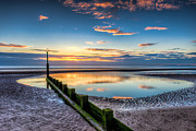 Horizon Metal Prints - Seascape Wales Metal Print by Adrian Evans