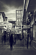 Seaside Boardwalk Print by Kim Zier
