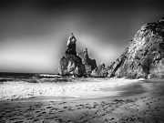 Rocky Outcrops Prints - Seaside in Portugal Print by Mountain Dreams