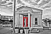 Louisiana Artist Prints - Seaside Post Office Print by Scott Pellegrin