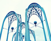 Seattle Center Prints - Seattle Center Arches Print by Tanya Harrison