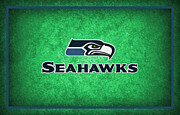 Seattle Greeting Cards Framed Prints - Seattle Seahawks Framed Print by Joe Hamilton