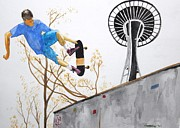 Skate Originals - Seattle Skate by Craig Kennedy